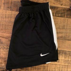 Nike Women's Soccer Shorts - Black/White, Medium